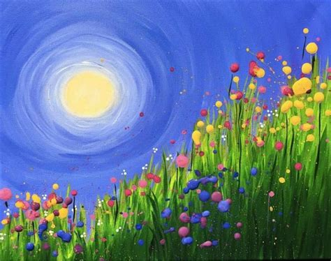 spring painting ideas 25 best ideas about sun painting on pinterest sun art moon painting and moon art