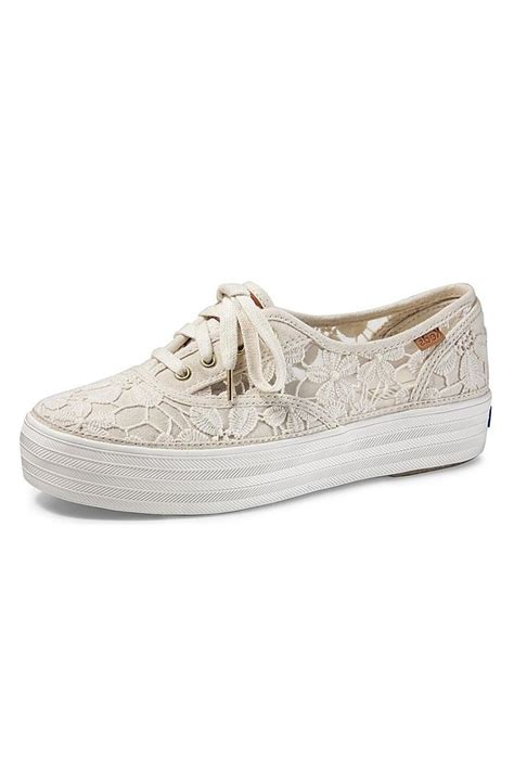 keds platform sneaker keds crochet platform sneaker from canada by quest shoes