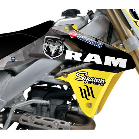 Rch Suzuki Graphics Stellar Mx Official 2013 Rch Suzuki Team Outdoors Graphics