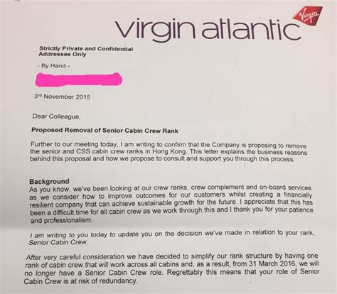 Complaint Letter Flight Attendant Atlantic Sacks 50 Senior Hong Kong Cabin Crew In Cost Cutting Drive South China Morning