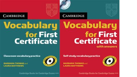 Grammar And Vocabulary For Fce With Answers And Cds cambridge grammar for by cambridge press on