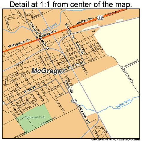 mcgregor map 4845672