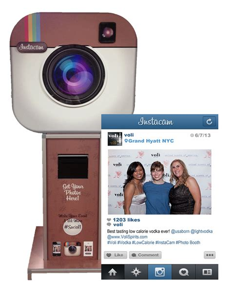 instacam photo booth hire perth vivid media