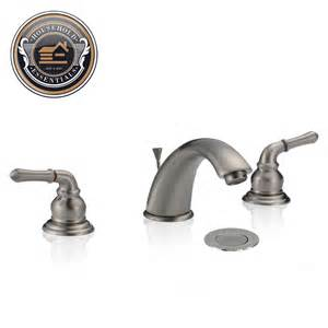 widespread bathroom sink faucet 8 quot widespread bathroom sink faucet with drain ebay