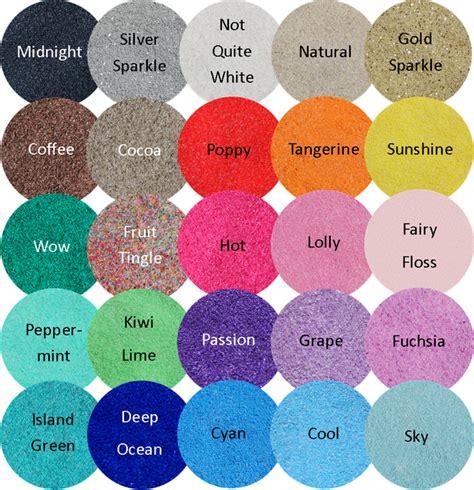 Coloured Sand, Unity Sand, Sand Colours,