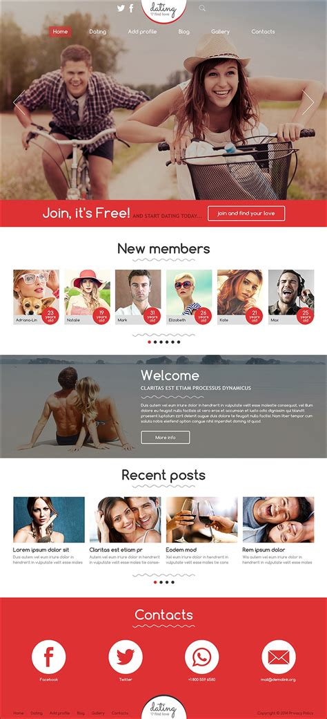 joomla dating template dating website themes templates free premium