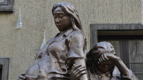 comfort women monument comfort women how the statue of a young girl caused a