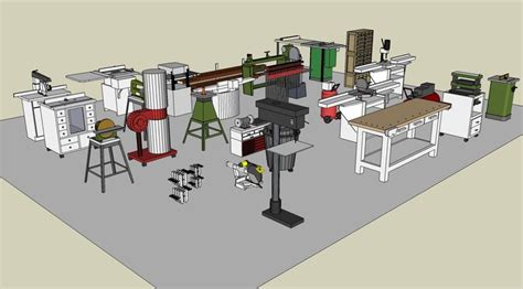 workshop layout sketchup 55 best images about sketchup on pinterest shop plans