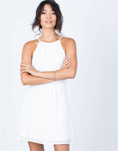 Dress Carissa carissa flowy dress white dress flowy white