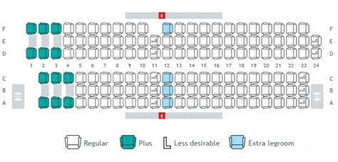 boeing 734 seat map seat maps seat selection travel info westjet