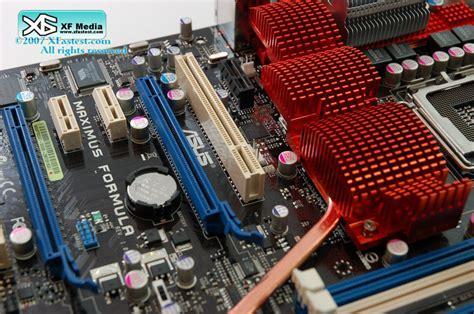 Asus Maximus Formula Chipset X38 asus maximus formula rog x38 mainboard preview
