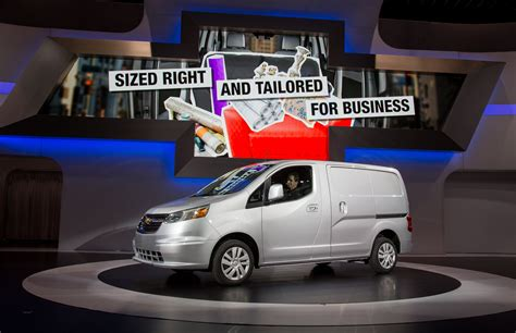Green Car Guide Launched by 2015 Chevrolet City Express Small Launched At Chicago
