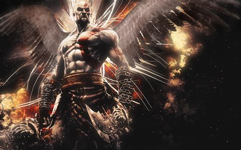 Character Dc Comic A1550 Samsung Galaxy A5 2017 Print 3d hd background kratos god of war ascension character bald wallpaper wallpapersbyte