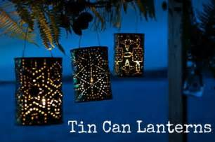 diy tutorial tin can lanterns boho weddings for the