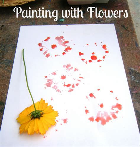libro the flower childs play let the children play painting with flowers