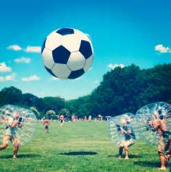 Bubble soccer ball png