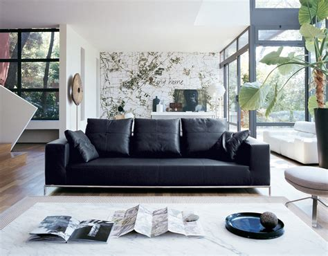 Black Leather Living Room Decorating Ideas by Living Room Decorating Ideas With Black Leather Furniture