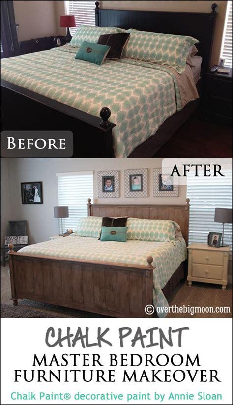 chalk paint master bedroom furniture makeover bedroom