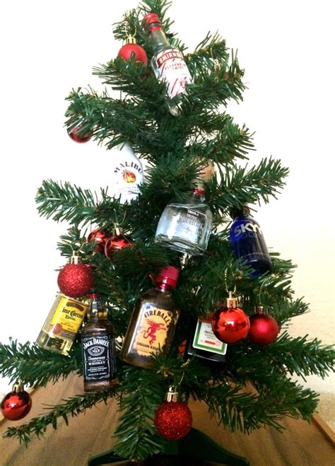 christmas liquor mini bottle tree mrs alex paul