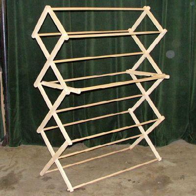 wooden rack clothes dryer plans diy