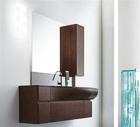 Modern Vanity Design by Curved Vanity Design By Rab Aredobagno Wave