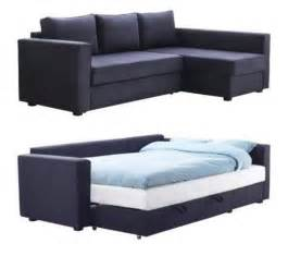 Ikea Sofa Beds For Small Space Manstad Sectional Sofa Bed Storage From Ikea Sofa Sleeper Of The Week Apartment Therapy