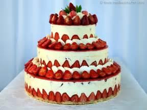 fraisier fa 231 on wedding cake fiche recette avec photos