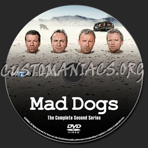 mad dogs season 2 mad dogs season 2 dvd label dvd covers labels by customaniacs id 159169 free
