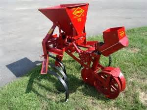 cultivator one row tp46 planter watts brothers