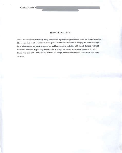artist statement pg 1 images frompo