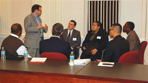 Wilmu Edu Mba 6000 Text Book by Wilmington Business Students Meet Banking Execs