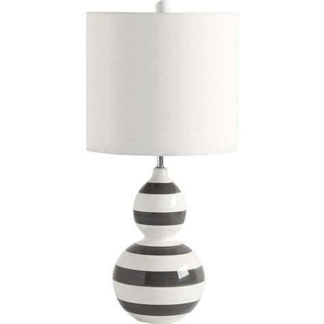 Black And White L Shades by Black And White Striped L Shade Ls Ideas Black And