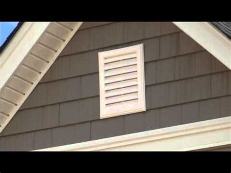 gable end attic exhaust gable vents sd video sharing youtube