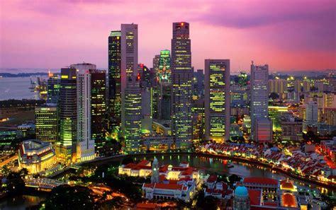 imagenes de paisajes urbanos paisaje urbano de singapur fondos de pantalla paisaje