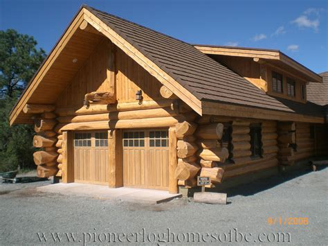 Small Log Cabins Floor Plans Custom Log Home Special Construction Features Pioneer
