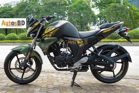 Yamaha FZS Fi Matte Green Motorcycle Price in India