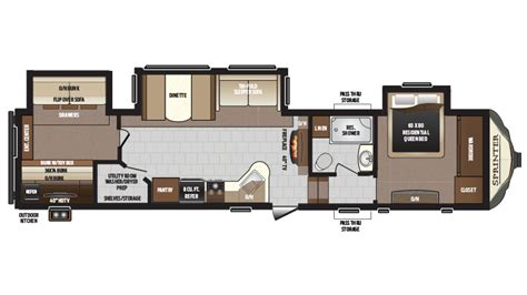 sprinter fifth wheel floor plans keystone sprinter floor plans 2017 floor matttroy
