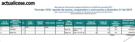 cartilla 2015 persona juridica renta personas juridicas 2015 formato