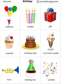 birthday flashcard