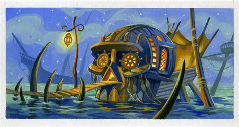 Classic Home Design by Monkey Island 2 Lechuck S Revenge Concept Art The