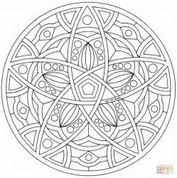 full page coloring mandalas celtic mandala coloring page free printable coloring pages