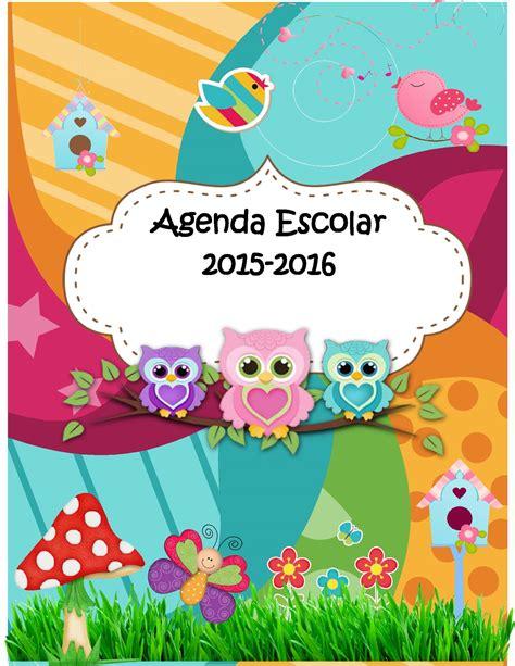 caratula escolar 2016 agenda curso 2015 2016 motivo b 250 hos 1 imagenes educativas