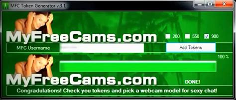 my free cas myfreecams mfc premium tokens adder hack generator may