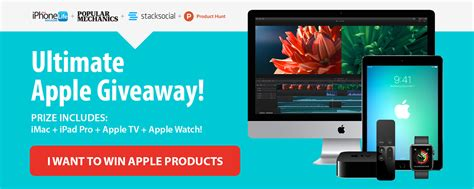 Right This Minute Ipad Giveaway - the ultimate apple giveaway win an ipad pro apple watch 2 imac and apple tv