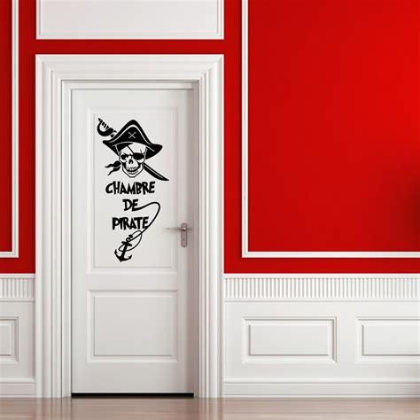 stickers pour chambre d enfant sticker pirate chambre d enfant stickers citations
