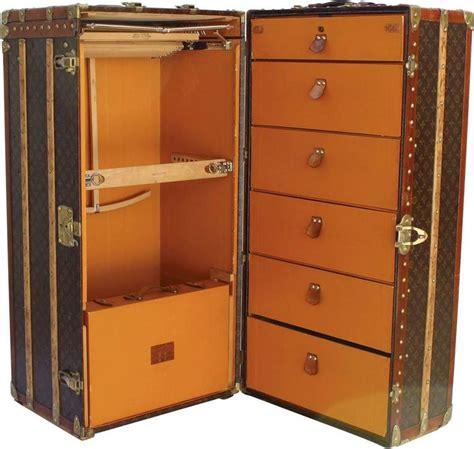 Wardrobe Steamer by 1930s Louis Vuitton Steamer Wardrobe For Sale At 1stdibs