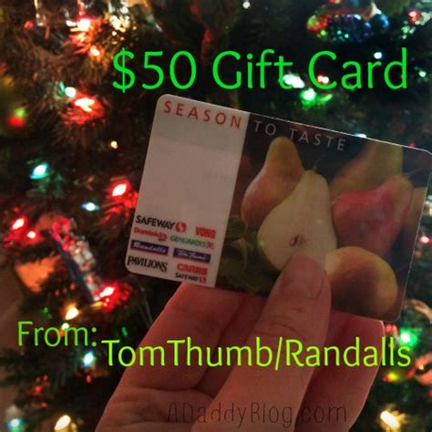 Randalls Gift Cards - win 50 grocery gas gift card