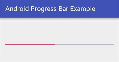 android progress bar android progress bar exle viral android tutorials exles ux ui design