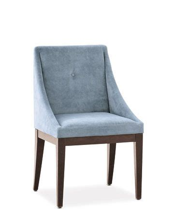 blue dining room chair in session