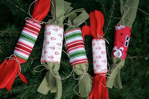 petite planet eco friendly reusable felt christmas crackers